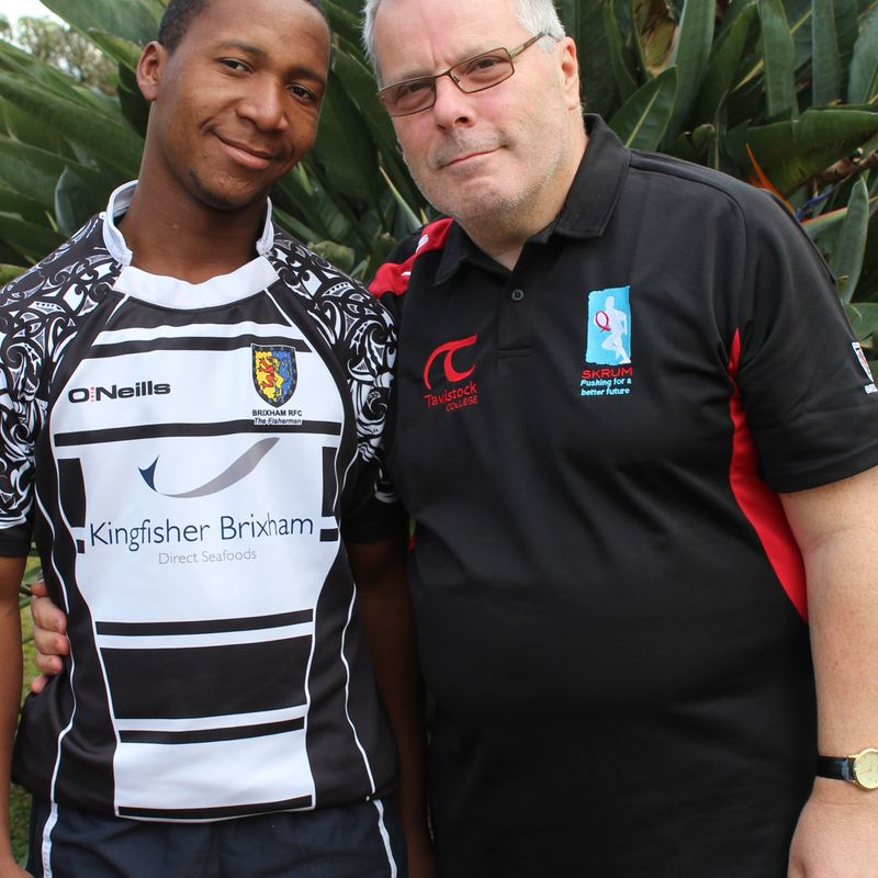SKRUM charity news -  Brixham RFC's representative, Chris Forster, reports from Swaziland