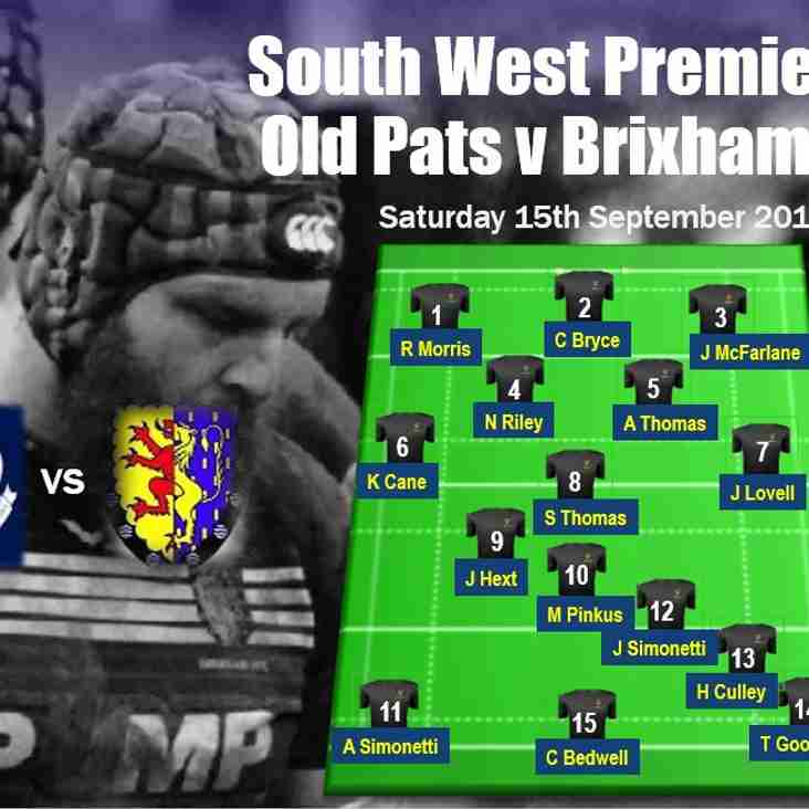 First XV travel to Cheltenham to face Old Patesians!
