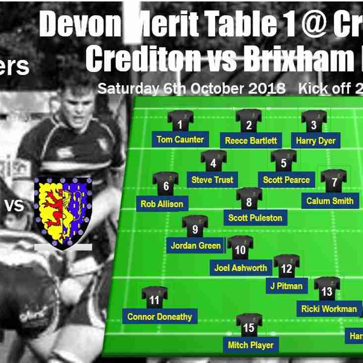 2nd XV Crusaders to take small army to Crediton this Saturday - your team selection!