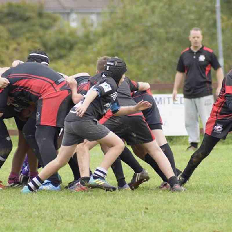 Brixham Under 13s vs Saracens