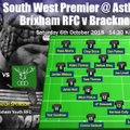 First XV vs Bracknell - team selection and match details for Saturday's South West Premier clash