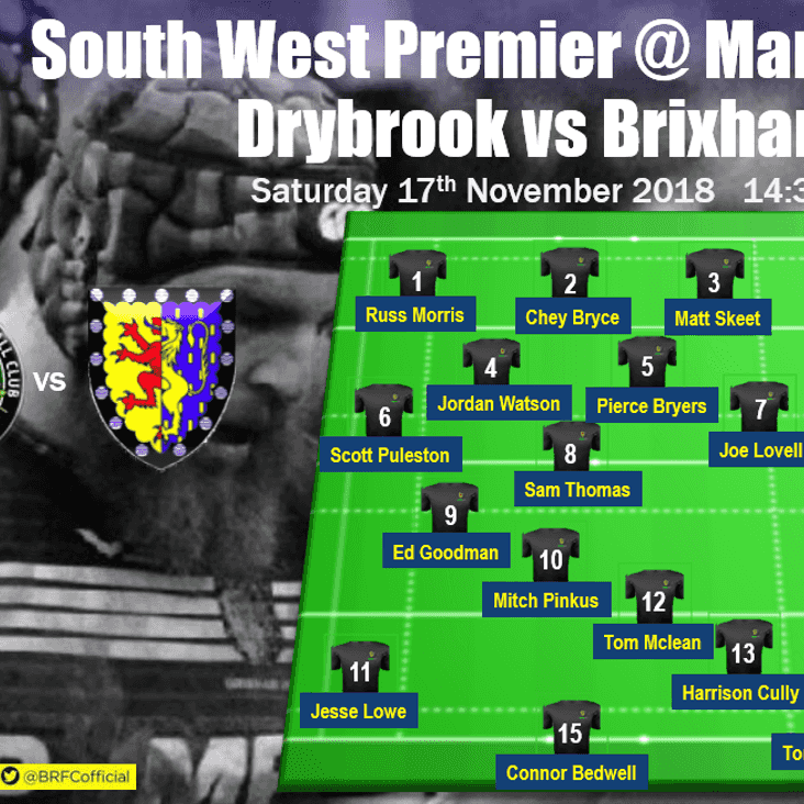 Away again! First XV travel to Mannings and face Drybrook this Saturday