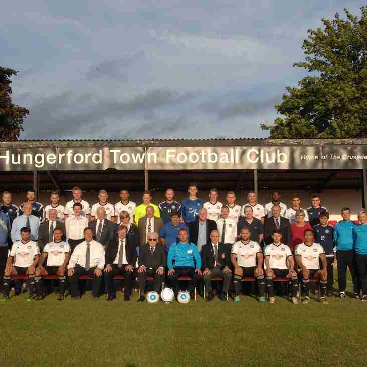 Hungerford v Leiston FC in the Emirates FA Cup