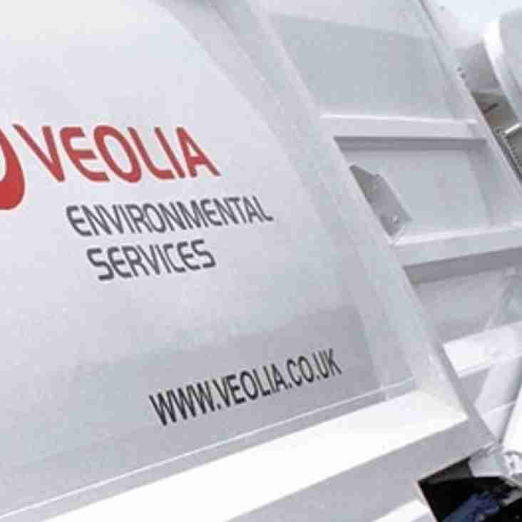 Hungerford Town FC goes green with Veolia sponsorship agreement