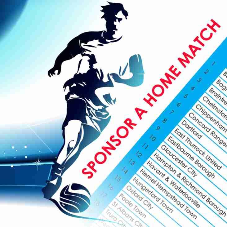 Sponsor a Crusaders home game this season £100