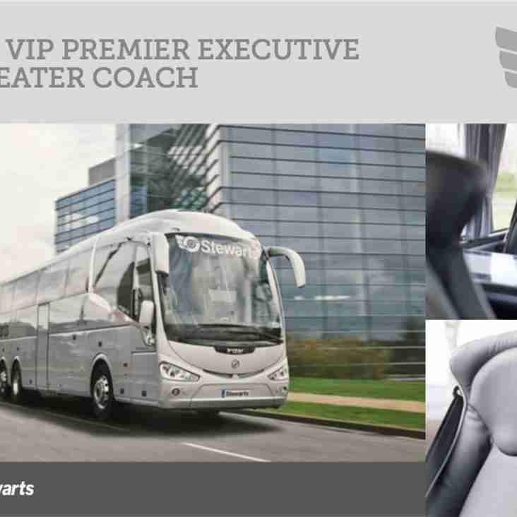 Luxury Coach to St Albans FC