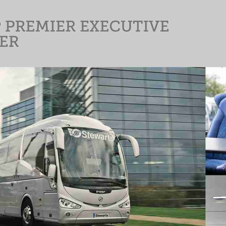Luxury coach travel available for St Albans game