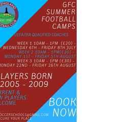 Greenisland FC Summer Football Camps