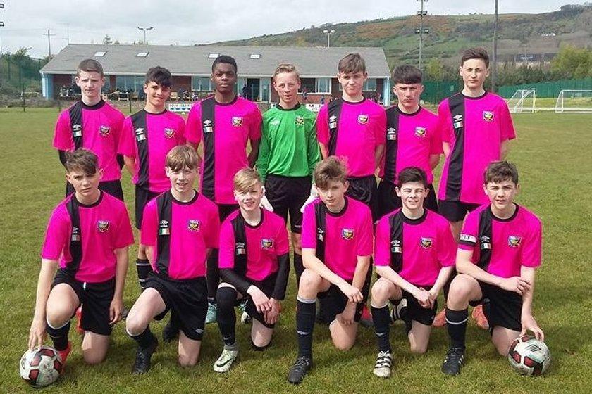 Phoenix F.C. Dublin visit Greenisland