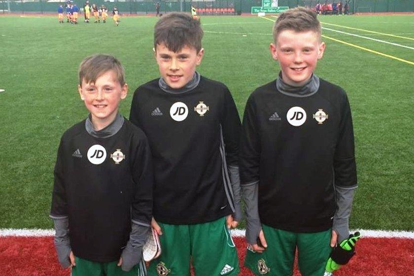 Greenisland players represent Club N.I.