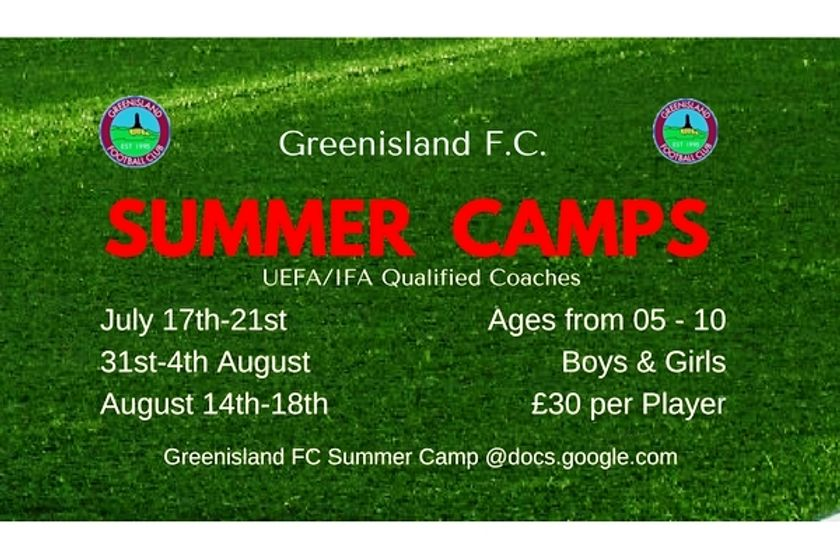 SUMMER CAMPS ARE BACK!!!