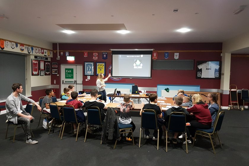 Greenisland Youth learn about E-Safety