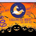 HALLOWE'EN DISCO -  Everyone welcome - ticket only