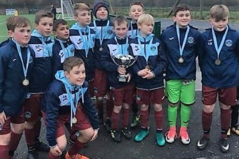 Greenisland 06's  Shine at 'Let Them Play' Tournament