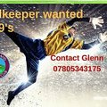 Opportunity for a Goalkeeper