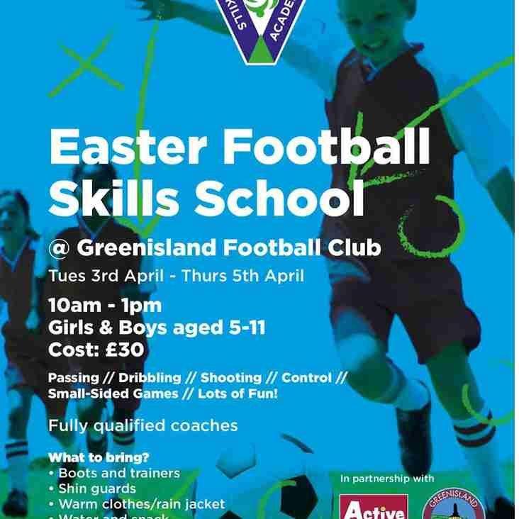 Easter Soccer School