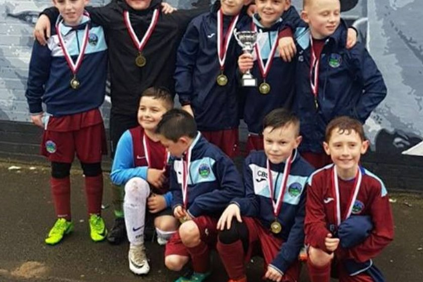 08's JETS  - at the East Belfast FC Tournament