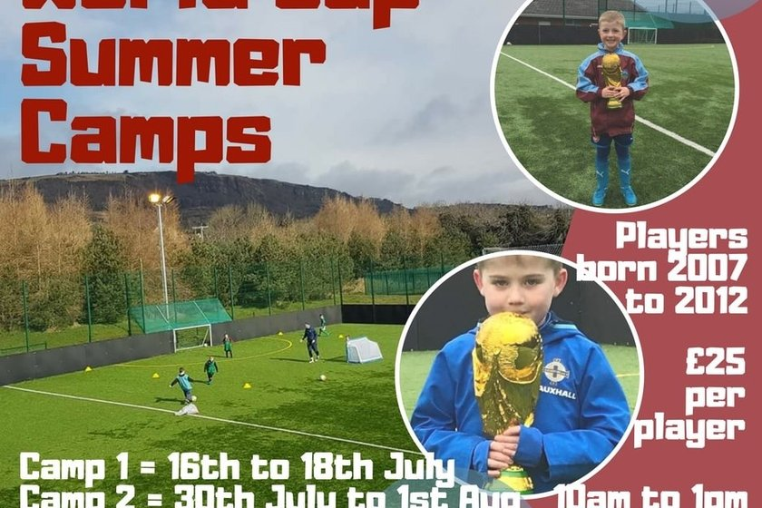 Greenisland 'WORLD CUP' Summer Camps