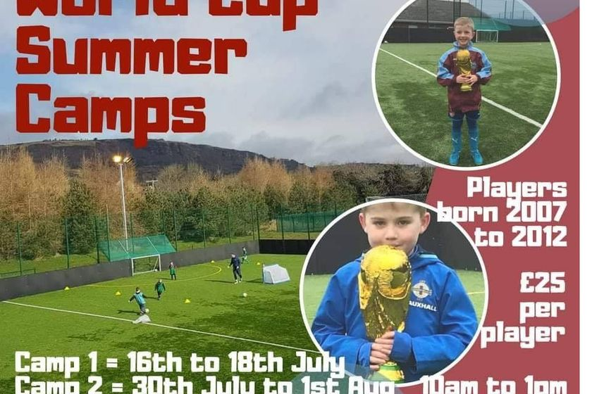 Summer Camps start  Mon 16th July