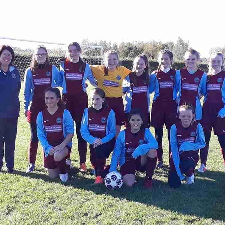 Super win for Girls team