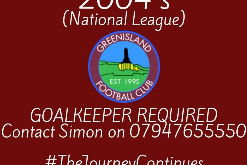 GOALKEEPER   REQUIRED  FOR 04'S