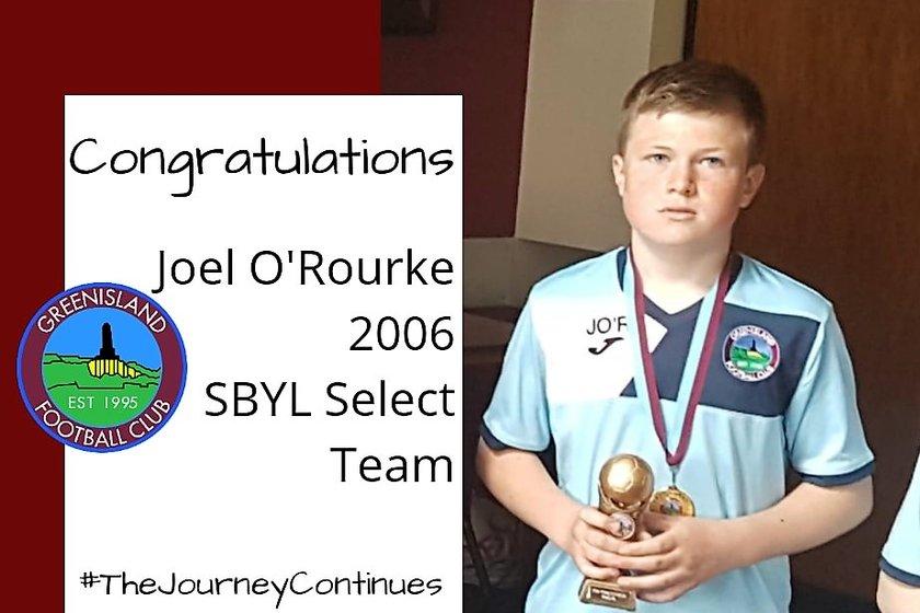 Congratulations Joel O'Rourke