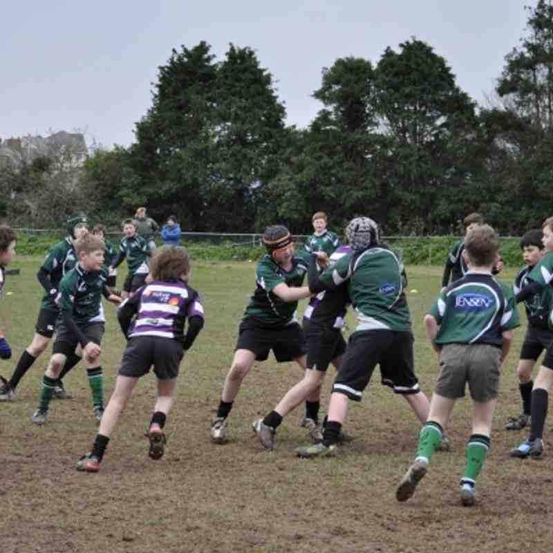 Under 12s v Sidmouth