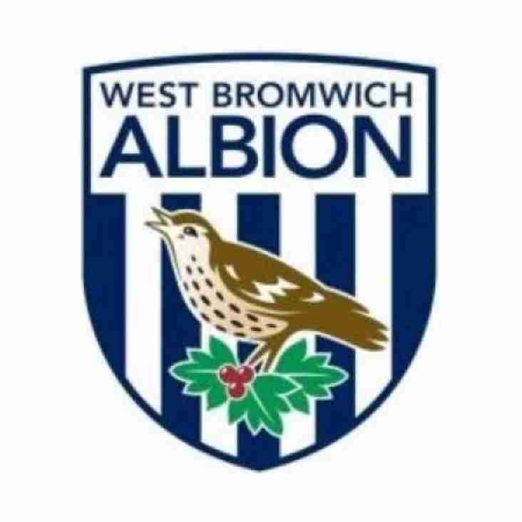 Vision Football Academy Ltd Recruitment link to WBA FC Academy