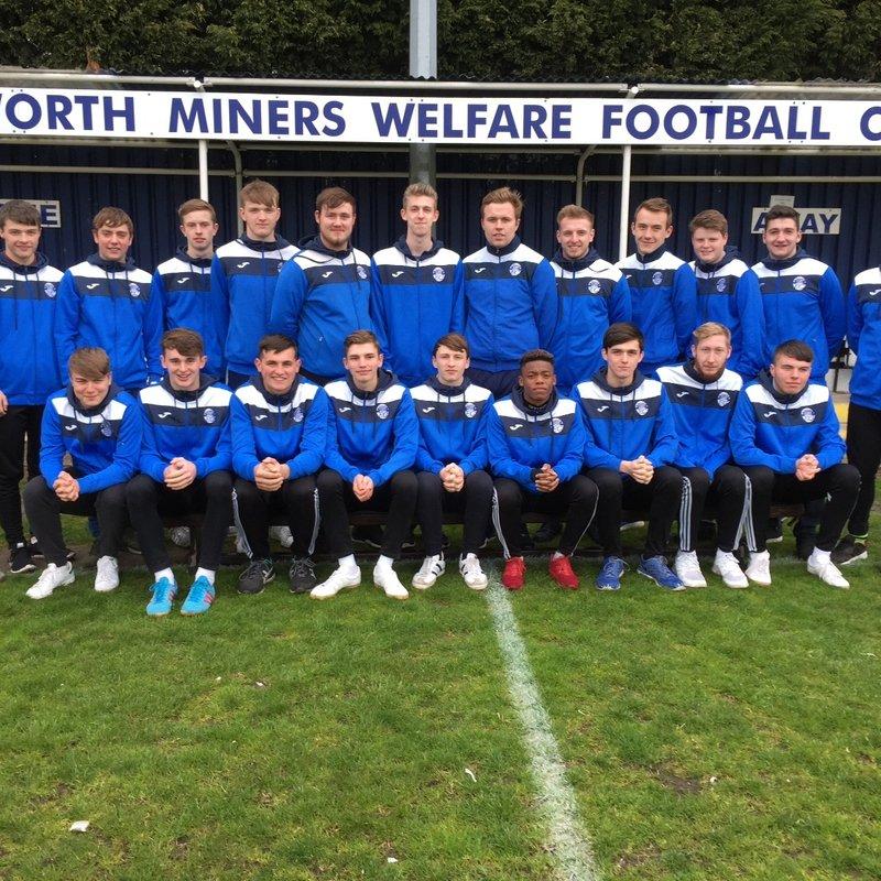 South Kirkby 1 - 1 Hemsworth MW FC