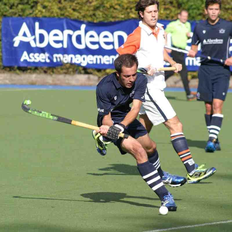 Men's Blues vs. Old Cranleighans - October 2014