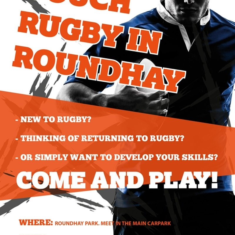 Touch Rugby & Social - Sundays, 3pm @ Roundhay Park