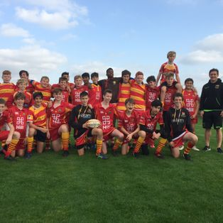Cambridge RUFC U14s narrowly miss out on the Cup at the Northampton Saints tournament