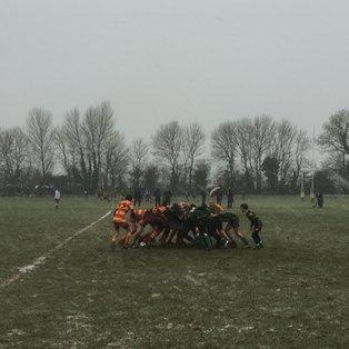 Cambridge U14 on Top over Huntingdon 37 v 7