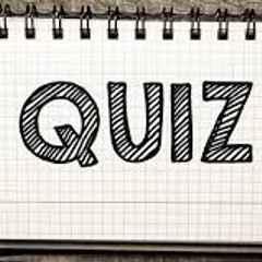 Quiz night warm up (Wednesday)