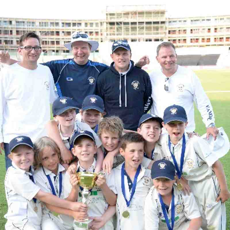 Easton & Martyr Worthy  won the Under 9 Zooters Competition! Everyone had a great day at The Ageas Bowl.