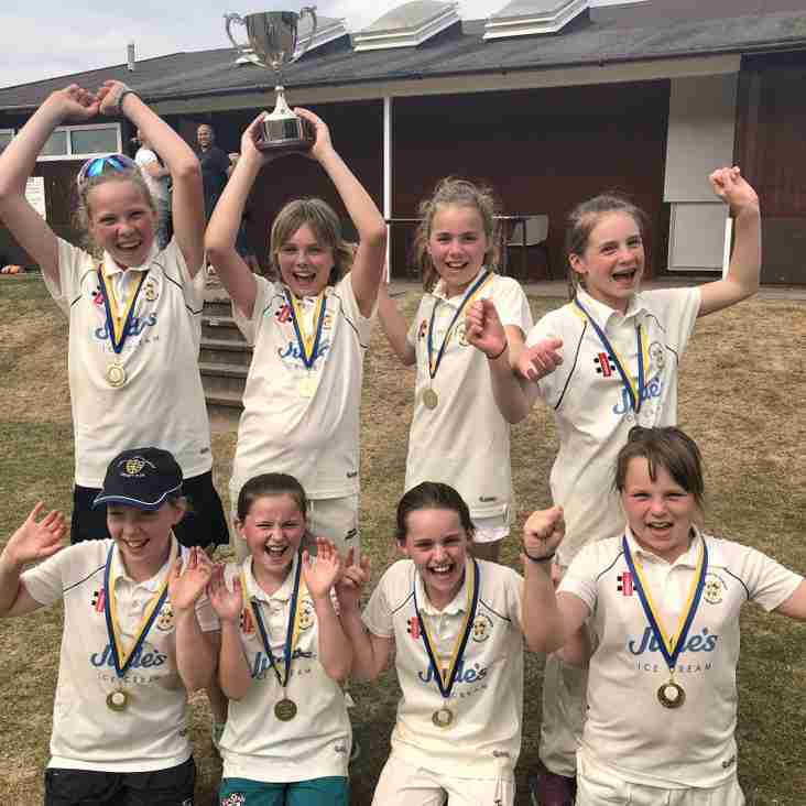 EMWCC U11 Girls Win the double!
