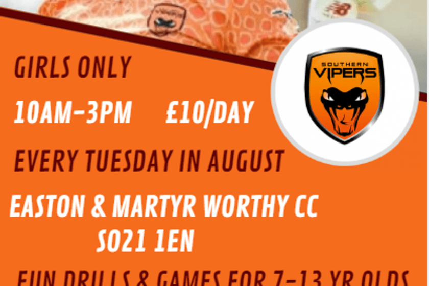 Vipers Summer Camps come to EMWCC