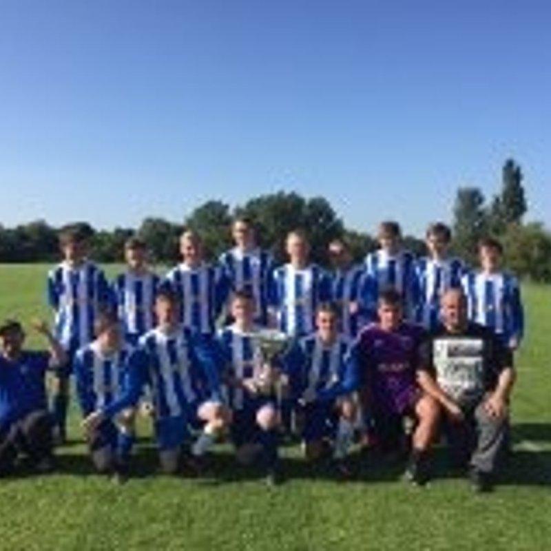 Hartlepool FC u/18 beat FerryhillTown FC 3 - 8