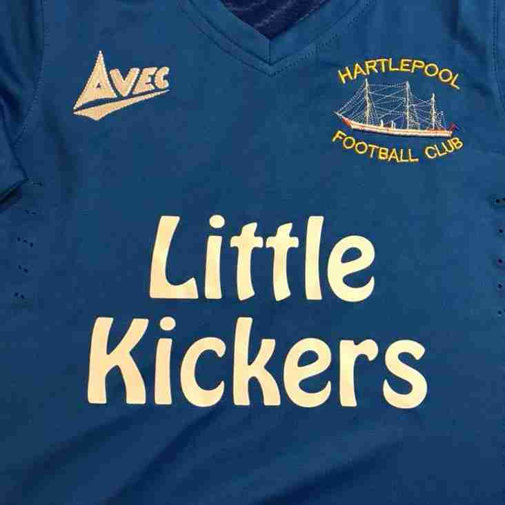 Hartlepool FC Little Kickers Notice