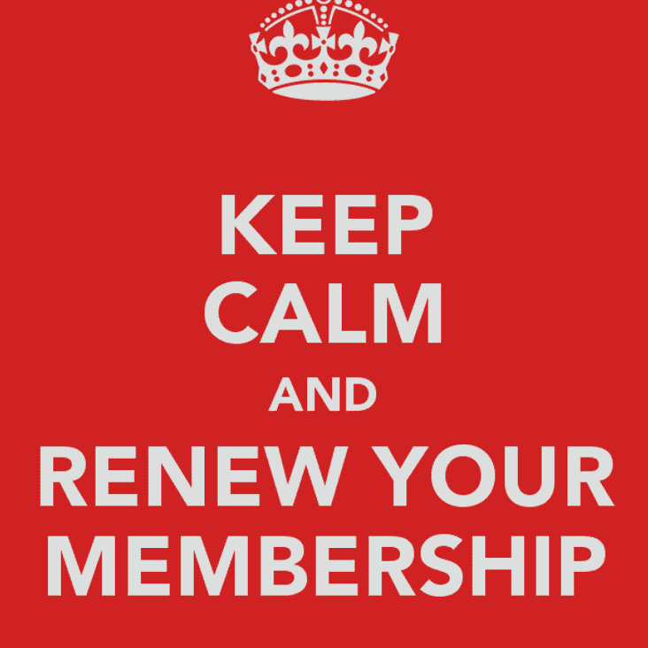 Membership Fees NOW DUE
