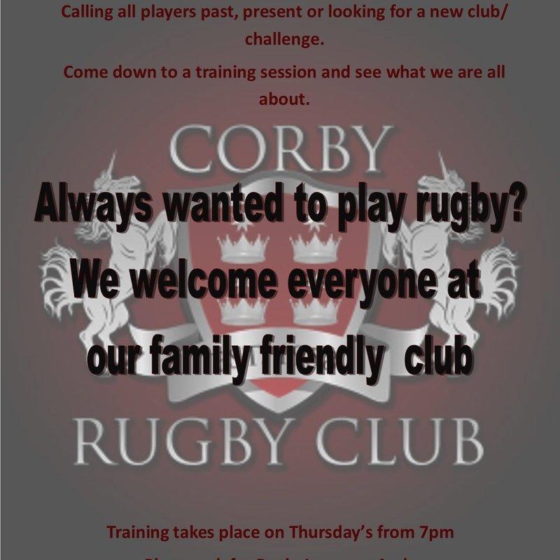 Corby 19 - 19 Wellingborough OG's 2nd XV