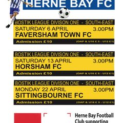 April's Home Fixtures