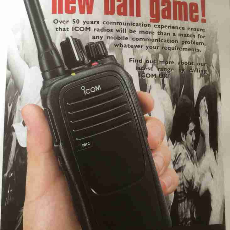Icom UK continued support
