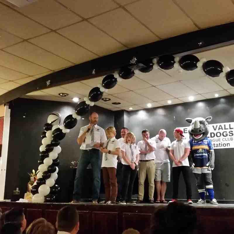 DEARNE VALLEY BULLDOGS ARLFC UNDER 10,S PRESENTATION NIGHT 2015