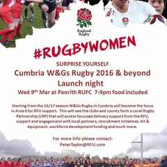 Cumbria W&G Rugby 2016 and beyond