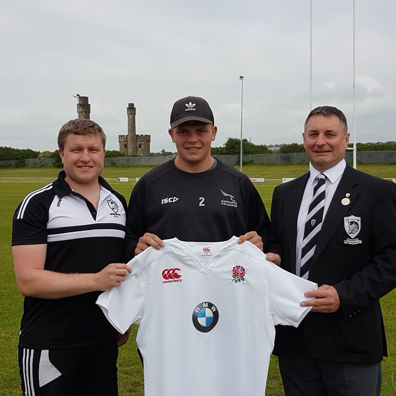 Workington Zebras welcome back Newcastle Falcons & England youth player Jamie Blamire.
