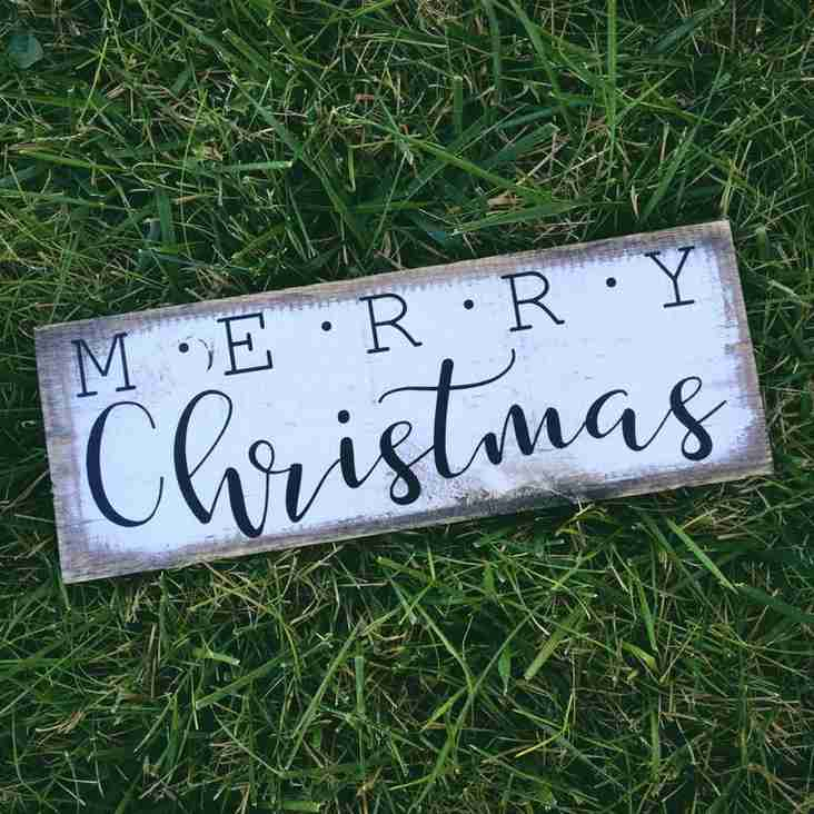 A Very Merry Christmas...