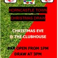 HORNCASTLE TOWN CHRISTMAS DRAW
