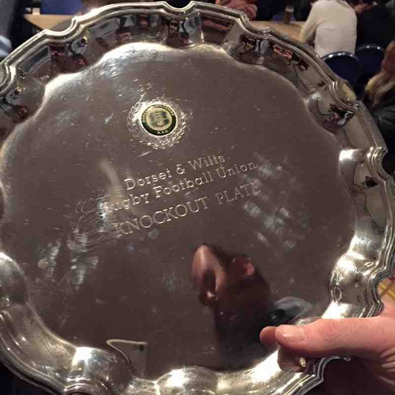 Pewsey Rugby V Weymouth & Portland 2015/16 1st IV Plate Winners