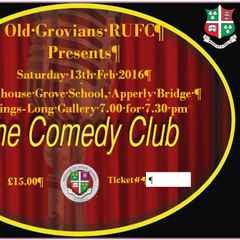 OLD GROVIANS COMEDY EVENING